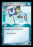 Commander Hurricane, Equestrian Founder card MLP CCG