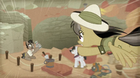 Daring Do swoops down on Caballeron S9E21