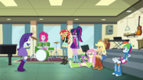 Equestria Girls contemplating EGS1