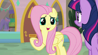 """Fluttershy """"not because they're worried"""" S9E24"""