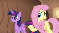 Fluttershy -you wouldn't have been sick- S7E20