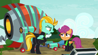 """Lightning """"not thinking of backing out"""" S8E20"""