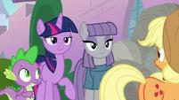 Maud Pie appears before Applejack S9E4