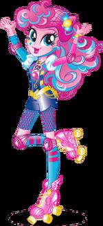 Pinkie Pie Friendship Games bio art