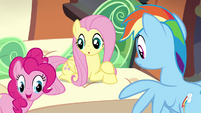Pinkie Pie asks about the orthros S4E22
