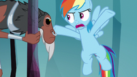 """Rainbow """"we're out of magic keys"""" S8E25"""