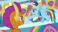 """Rainbow Dash """"figure out what to do"""" S9E15"""