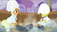 S06E10 Applejack i Rarity w saunie