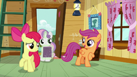 """Scootaloo """"not a bad way to start a day"""" S7E6"""