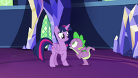 """Spike """"we need to switch places!"""" S7E15"""