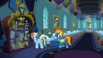 """Spitfire """"with the Wonderbolts motto"""" S6E7"""