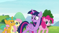"""Twilight """"between her school and ours!"""" S9E15"""