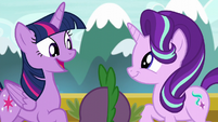 """Twilight """"since we're going to the Crystal Empire"""" S6E1"""