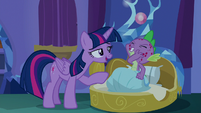 """Twilight """"you did spend yesterday with Rarity"""" S8E11"""