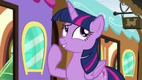 """Twilight Sparkle """"I guess so"""" S8E6"""