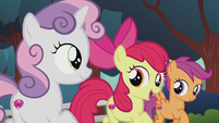 "Apple Bloom singing ""more than just a mark"" S5E18"