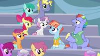 "Bow Hothoof ""if Rainbow Dash isn't a Wonderbolt"" S7E7"