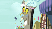 Discord looks around at his own chaos S9E23