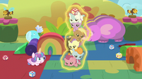 Flurry Heart stacking infants on top of each other S7E22