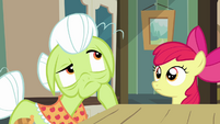 Granny Smith deep in thought S3E8