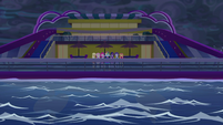 Mane 7 looking out at empty water EGSB