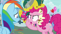 "Pinkie Pie ""destroy with your laser eyes"" S7E23"