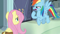 """Rainbow """"you seem to have forgotten"""" S9E21"""