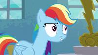"""Rainbow Dash """"appreciate hard work"""" S6E7"""