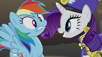 "Rarity ""Just look at us"" S4E21"