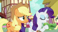 Rarity --give yourself over to the idea-- S6E10