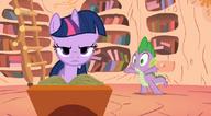 S01E06 Spike próbuje namówić Twi do starcia z Trixie