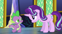 Spike encourages Starlight to talk to Twilight S6E1