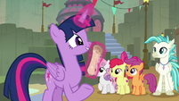 """Twilight Sparkle """"get this form signed"""" S8E6"""