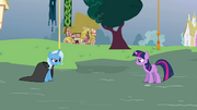 Twilight and Trixie about to duel S3E05.png