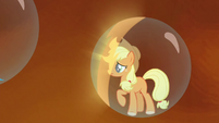Applejack's bubble prison glowing S4E26