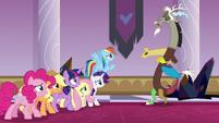 "Discord ""best protectors of Equestria"" S9E2"