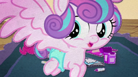 Flurry Heart flies in front of the screen BFHHS3