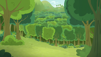 Multiple apple trees with no apples S9E10