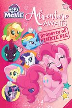 My Little Pony The Movie Adventure Awaits replica journal cover