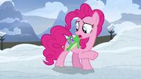 "Pinkie Pie ""Gummy, did you hear that?"" S7E11"