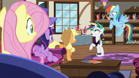 """Rarity """"magical remover potion on my mane"""" S7E19"""