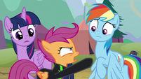 """Scootaloo """"nothing you can do to stop me!"""" S8E20"""