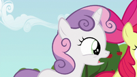 "Sweetie Belle ""somepony might even come to us"" S6E19"