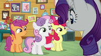 """Sweetie Belle """"what are you doing here?"""" S7E6"""
