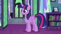 Twilight listens to Spike S5E12