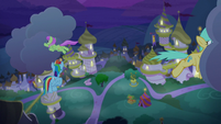 Merry May and Raindrops move clouds away S9E17
