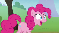 Pinkie Pie's shock turning into delight S8E3