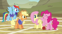 """Pinkie Pie """"works for me!"""" S6E18"""
