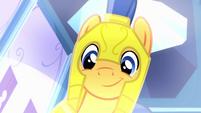 Pony Flash smiling EG