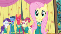 Ponytones sing backup for Fluttershy S4E14